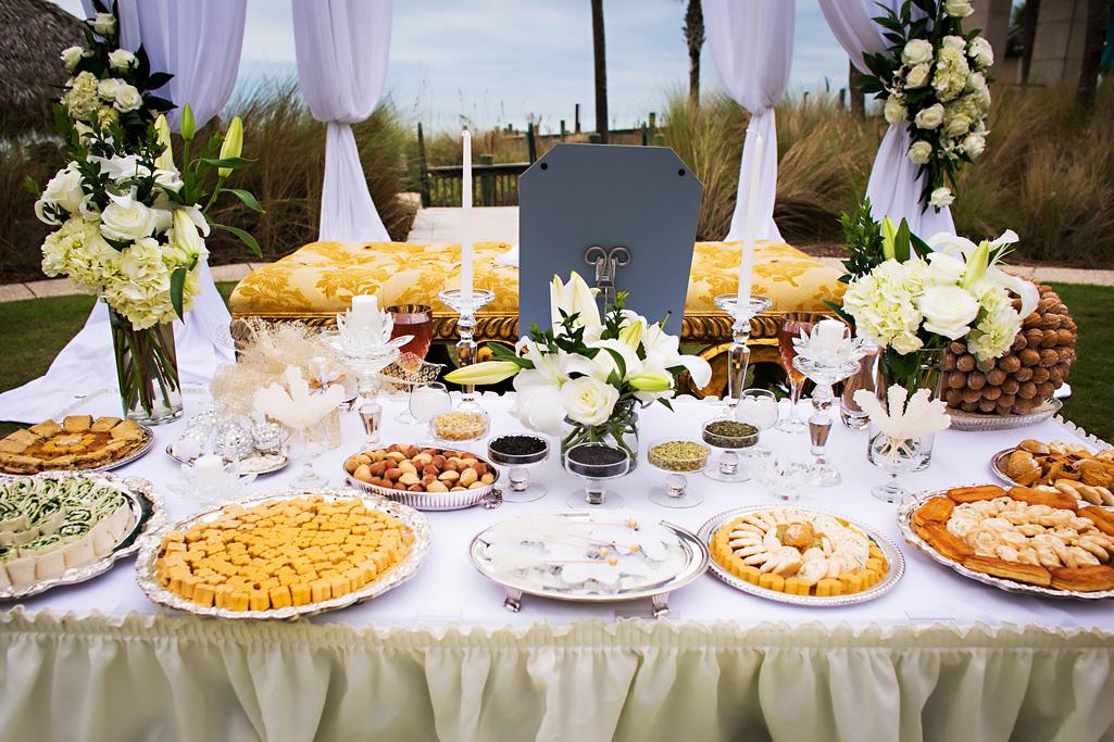 Afternoon Wedding Reception Food Ideas