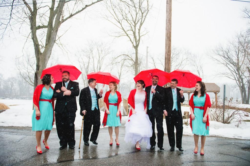 Tiffany Blue and Red WeddingTruly Engaging Wedding Blog