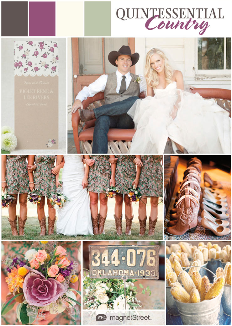 Country Wedding Ideas  Rustic CharmCountry Wedding Ideas  Rustic Charm