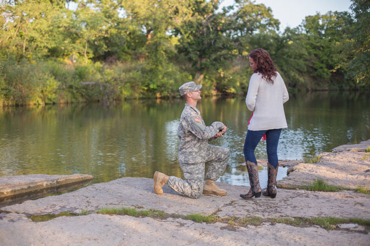 Super Adorable Military Surprise Proposal Truly Engaging