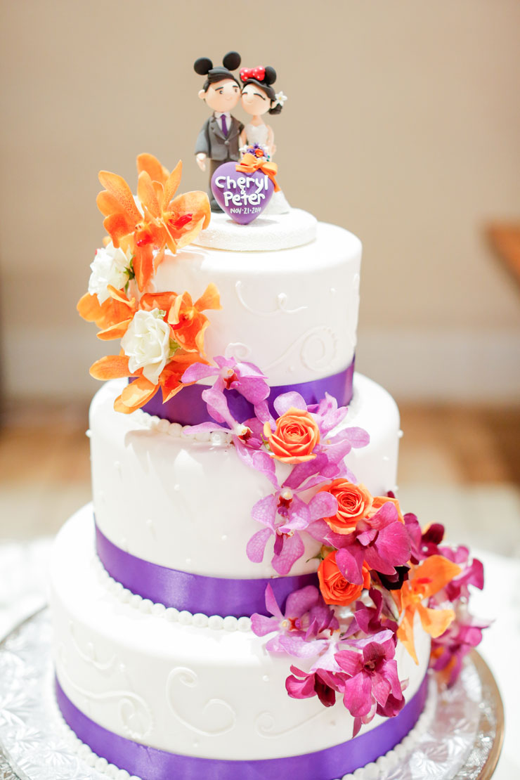 Vibrant Purple Wedding At Casa Real Ruby Hill