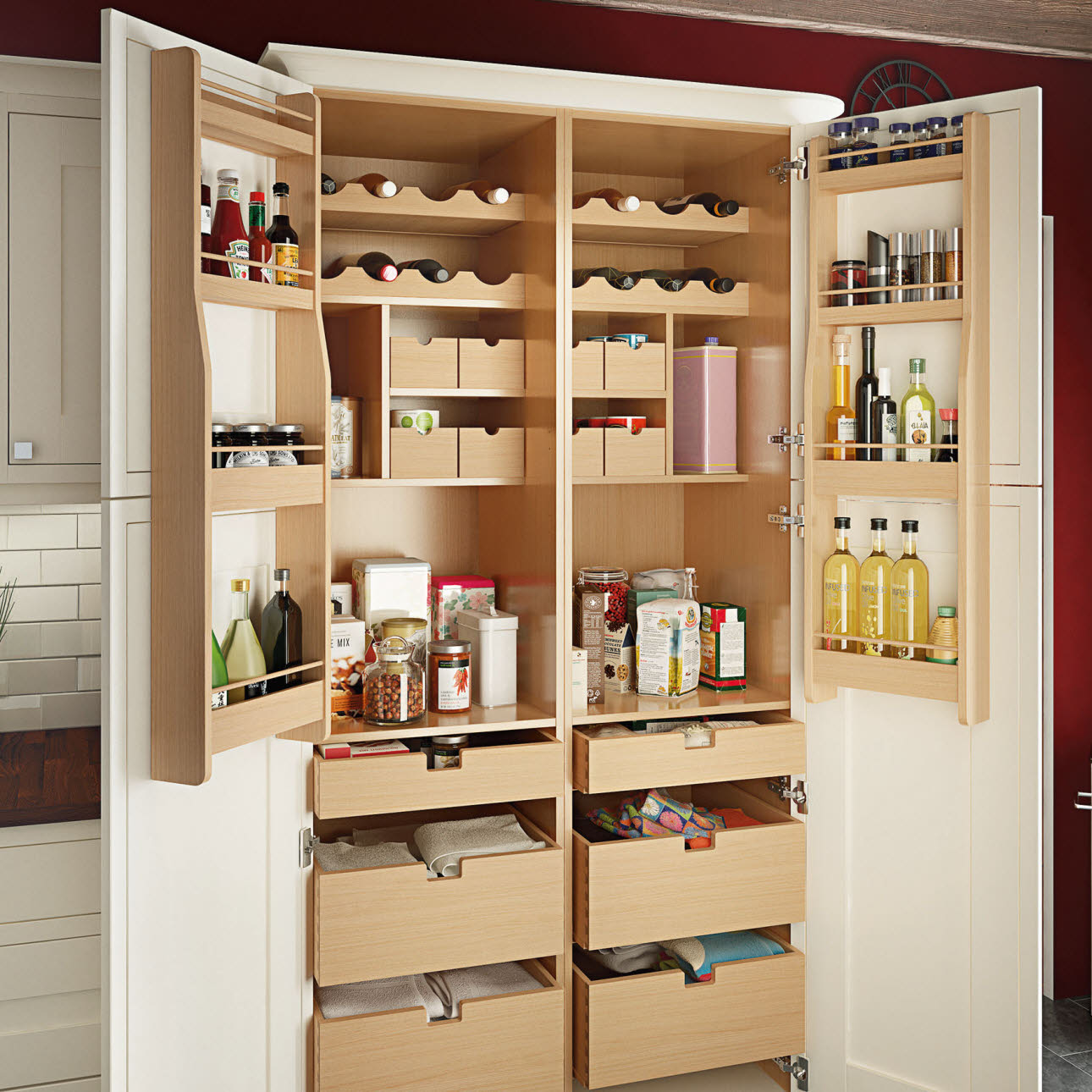 kitchen wall shelving units used cabinets for sale by owner storage | solutions magnet trade