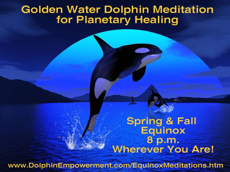 Golden Water Dolphin Equinox Meditation