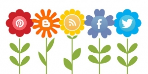 Social Media Icons by mkhmarketing