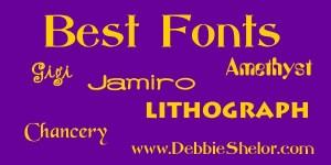 Best Fonts Online Free Download