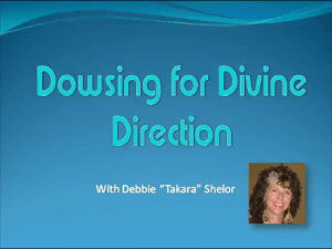 Pendulum Dowsing for Divine Direction Video
