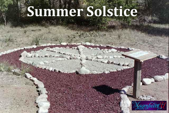 Summer Solstice Medicine Wheel
