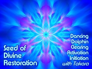 Seed of Divine Restoration Long Distance Energy Healing with Takara