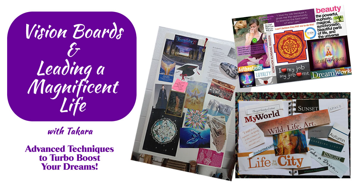 Vision Board Workshop with Takara