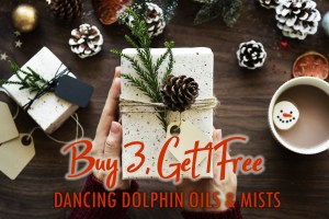 Dancing Dolphin Flower Essence Aromaetherapy Energy Healing Oils