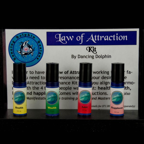 Dancing Dolphin Law of Attraction Kit