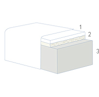 состав матраса Waterlattex Magniflex