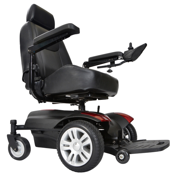 wheelchair meaning in urdu cheap pc gaming chairs motorized scooters magnifying aids magnifiers glasses titan front wheel power 18 inch full back captain seat left handed
