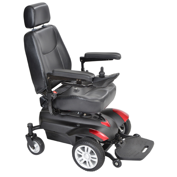 wheelchair meaning in urdu painted table and chairs motorized scooters magnifying aids magnifiers glasses titan front wheel power 18 inch standard back captain seat right handed