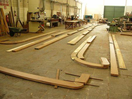 realizzazione passamani legno
