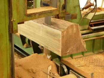 Lavorazione legno Teak