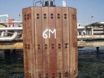 Fenders in azobè per il porto di Taranto