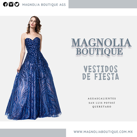 Magnolia Boutique Aguascalientes Hermosos Vestidos De Fiesta