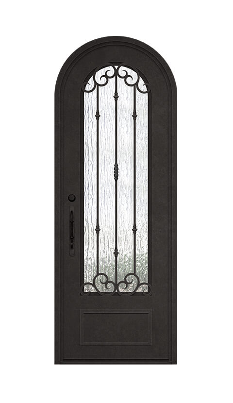 ROUND TOP - STANDARD SINGLE DOOR