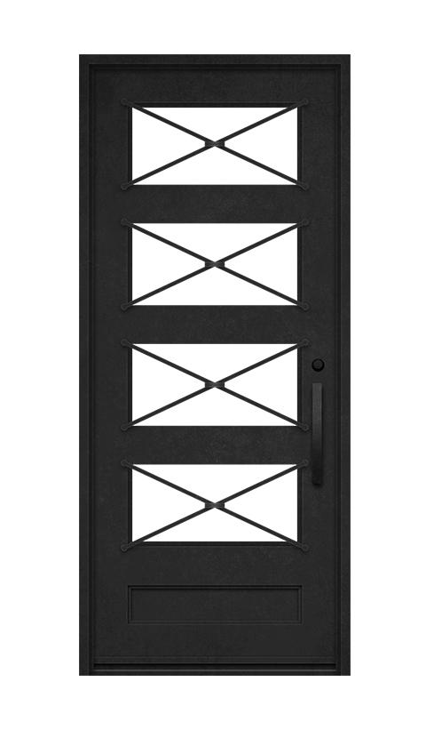 SQUARE TOP STANDARD SINGLE DOOR