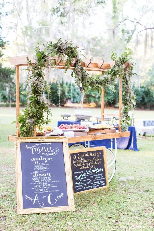 Wedding Food Cart