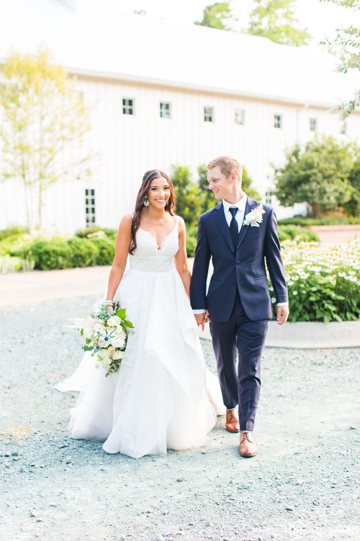The Barn of Chapel Hill Wedding Photographer | Kaitlyn + Turner Married