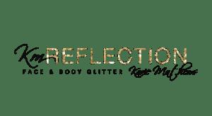 km reflection logo