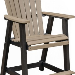 Tall Patio Chairs With Arms Chair Rental Milwaukee Counter Height Comfo Back