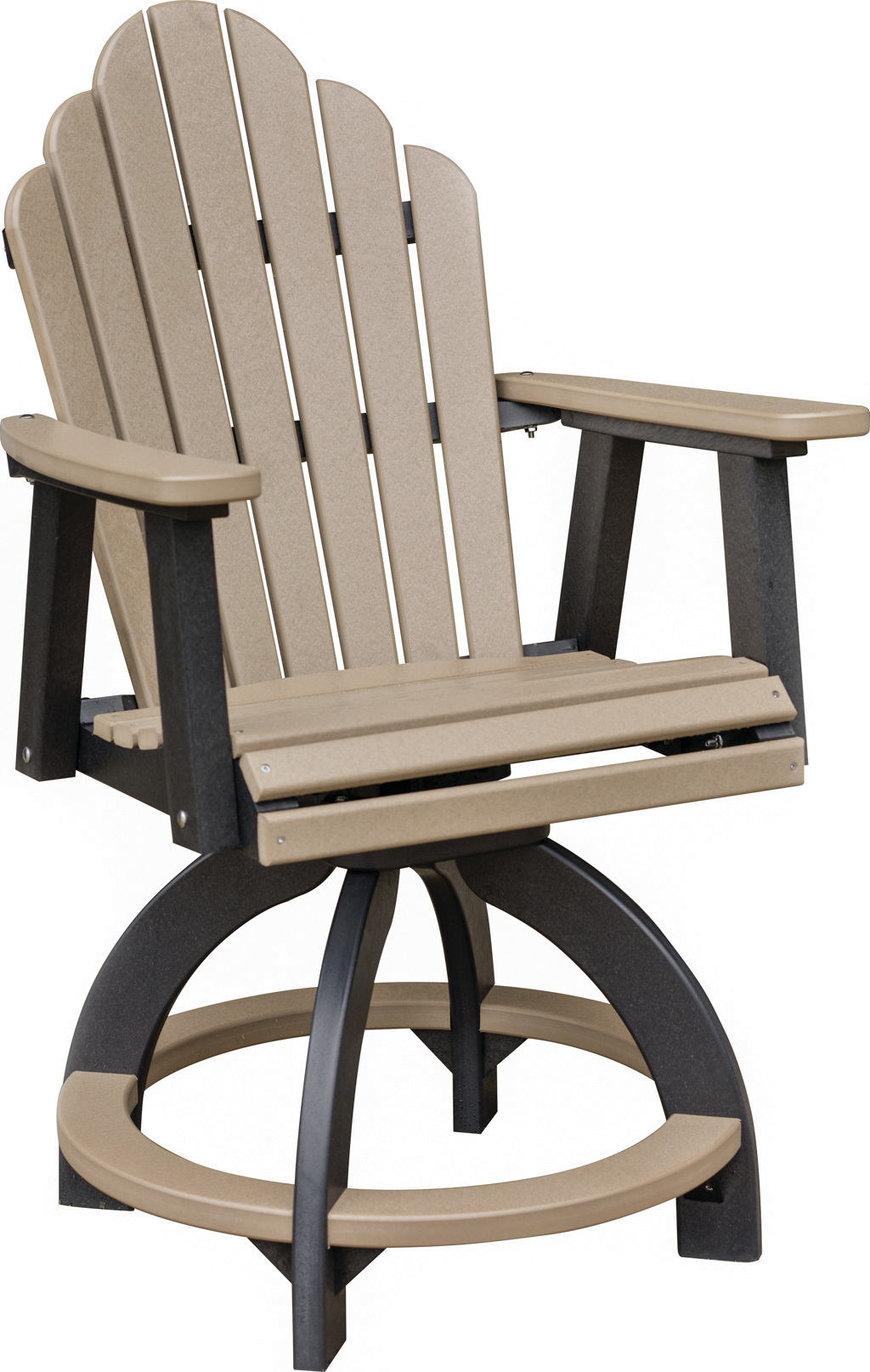 Swivel Counter height chair  COZI BACK