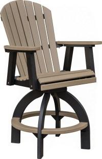 Swivel Bar height chair - COMFO BACK