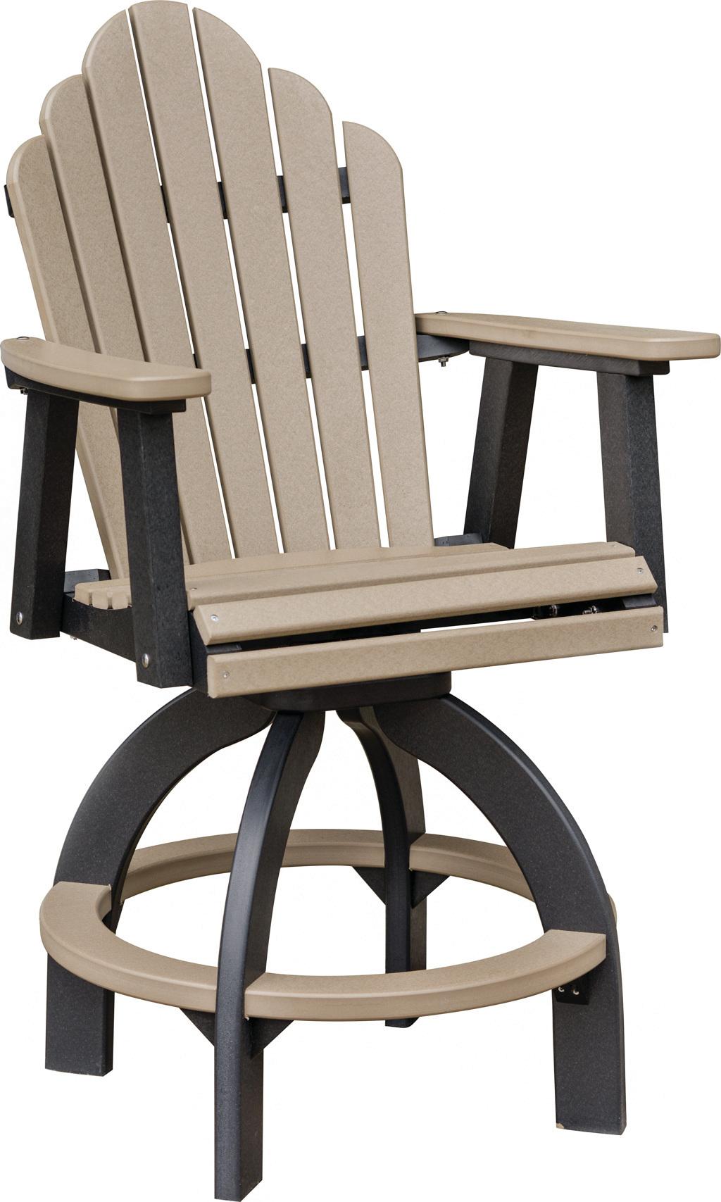 Swivel Bar height chair  COZI BACK