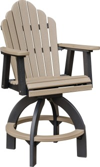 Swivel Bar height chair - COZI BACK