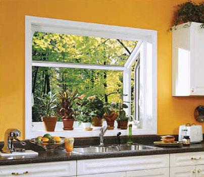 Garden Window Interior
