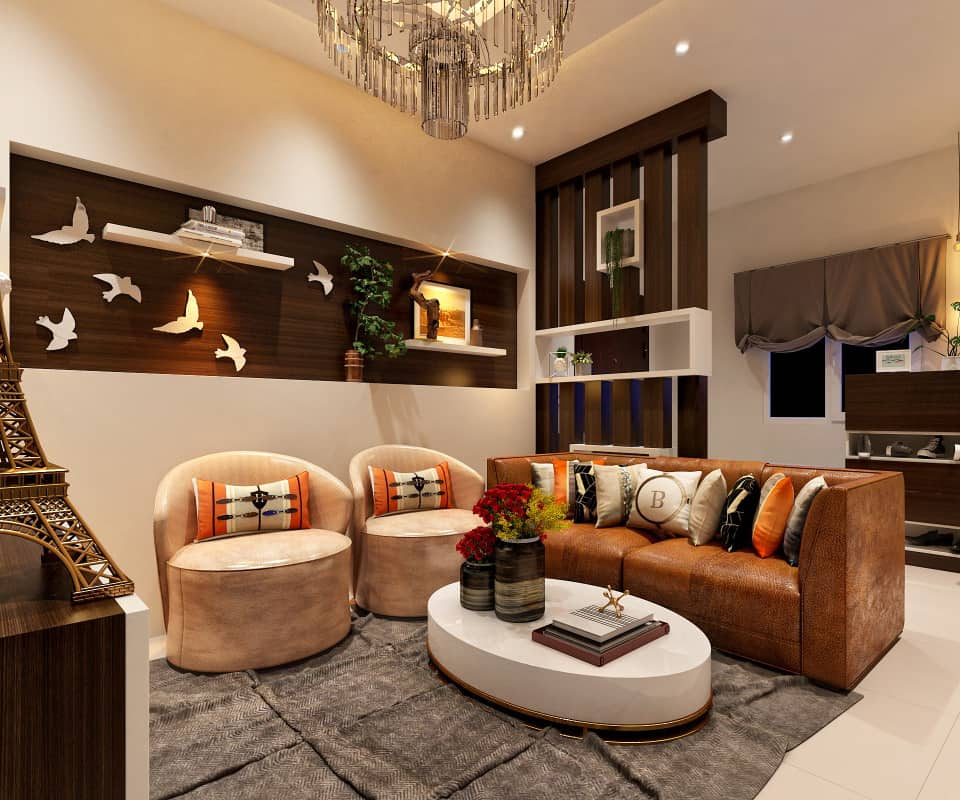 Living Concept  Living Room Interior Designers in Bangalore