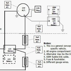 Rv Battery Bank Wiring Diagram Elodea Leaf Cell Power Inverter Installation Magnum Dimensions Figure 4 Cabling 1000 Watts Or Less With Auxiliary S Preferred Method