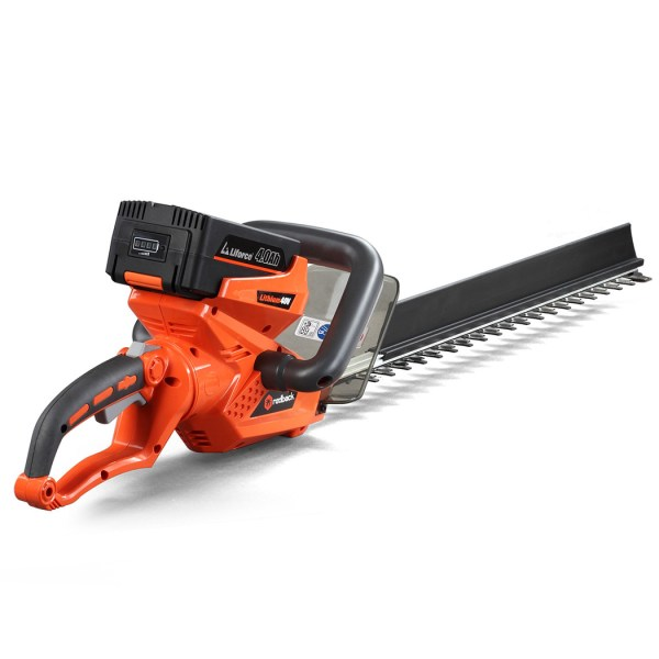 Cordless Electric Hedge Trimmer 40 Volt Lithium-ion Battery Tool