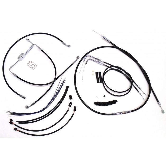 XR OE Style Black Handlebar Installation Kit 15