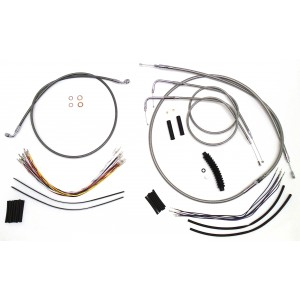 Harley Handlebar Extension Kit for Dyna Motorcycles
