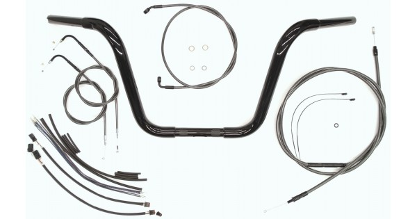 Dyna Handlebar with Installation Kit| DOT COMPLIANT