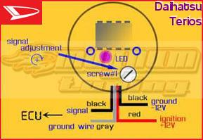ez wiring harness diagram 2007 mazda 3 serpentine belt daihatsu terios o2 sensor eliminator magnum cel fix oxygen simulator