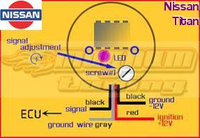Nissan Titan O2 Sensor Eliminator MAGNUM EZ CEL FIX Oxygen Sensor Simulator