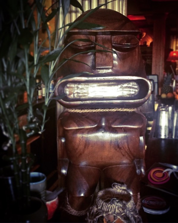 New Orleans: Day 3, Part 2 – Tiki Time, a Vending Machine, and the Literary Carousel