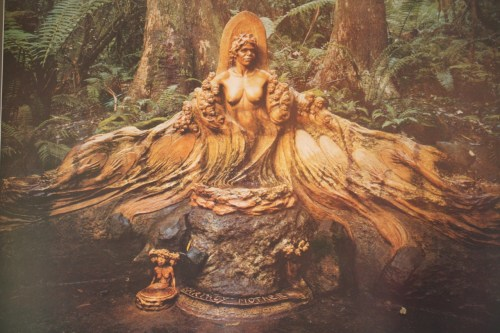 Earthly Mother: Sculpture by William Ricketts, installed at the William Ricketts Sanctuary, Dandenong Ranges, Australia http://parkweb.vic.gov.au/explore/parks/william-ricketts-sanctuary-gardens-of-the-dandenongs