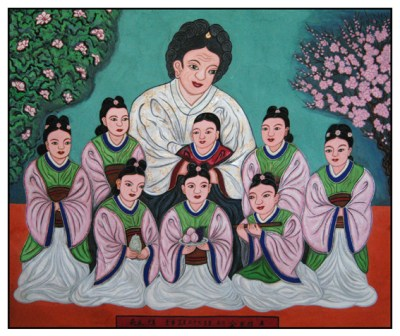 Gurang (Nine Maidens) also known as Gyeyang Halmi, Mago and Eight daughters