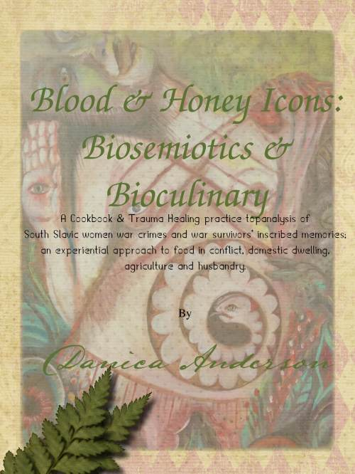 Blood & Honey Icons by Danica Anderson Cover Art