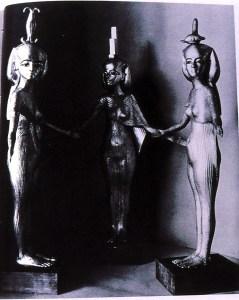 Egyptian Triple Goddess