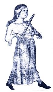 Basque woman musician