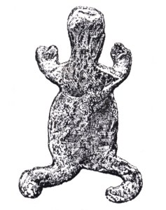 Votive frog from the grotto of Hohlenstein
