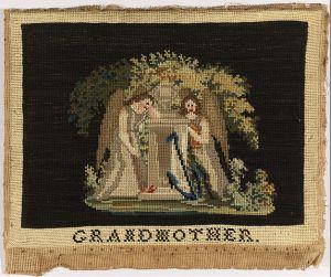Grandmother Mourning Sampler, Google art project