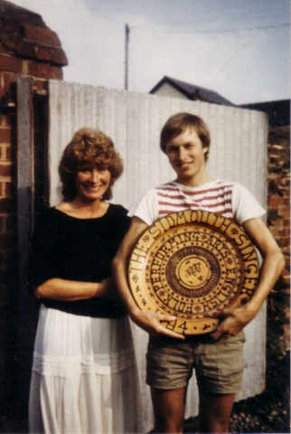 Andy Turner & Shirley Collins - Sidmouth Singer competition 1984
